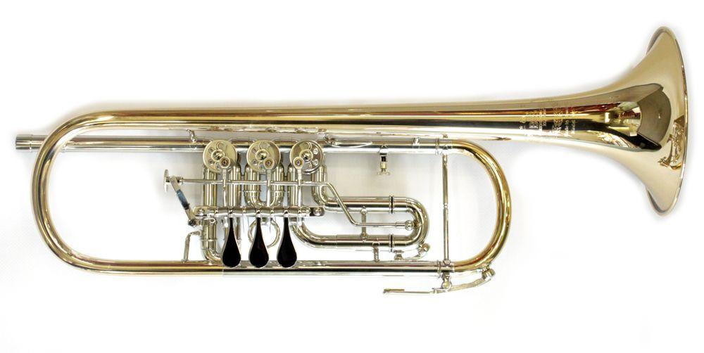 B&S 3005 WTR-L B-Konzerttrompete, Bohr.11,00mm, incl.Etui u. Pflegeset