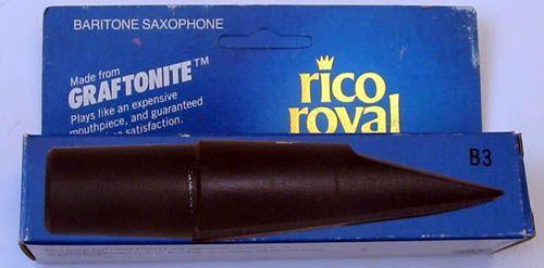 Rico Royal B-3 Mundstück Bariton-Saxophon Graftonite Bahn 3