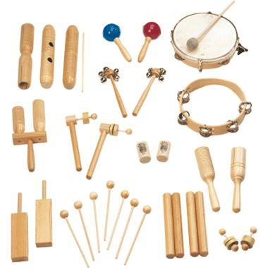 Rohema 61568 Percussion Set - Rhythmus-Set 2 (für 22 Kinder)