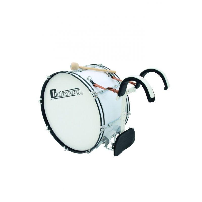 """DIMAVERY MB-424 Marsch-Bass-Trommel 24""""x 12"""" Marching Bassdrum"""