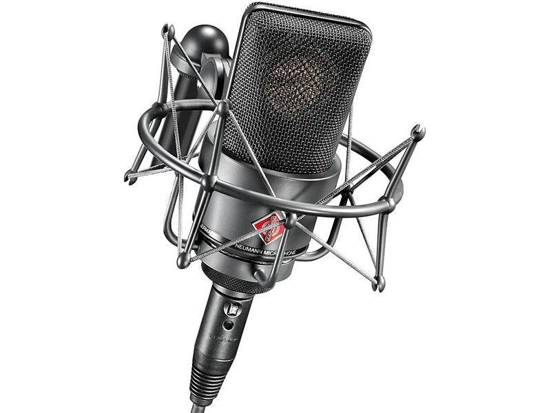 Neumann TLM 103 mt Studio SET, Großmembranmikrofon mit Spinne, Niere, anthrazit