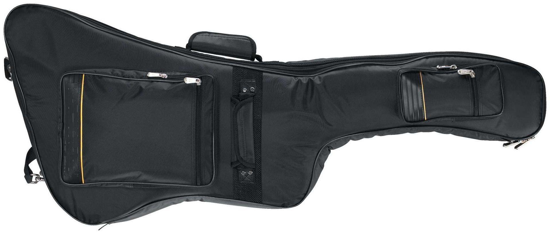 Rockbag 20620 Gigbag für E-Gitarre EX-Form, E-Gitarrentasche mit 35mm Polsterung