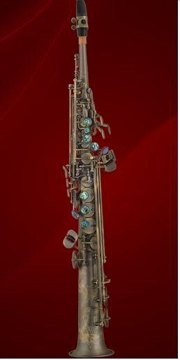 P.Mauriat System-76 VD Sopransaxophon Vintage Dark, incl. Etui u. Zubehör