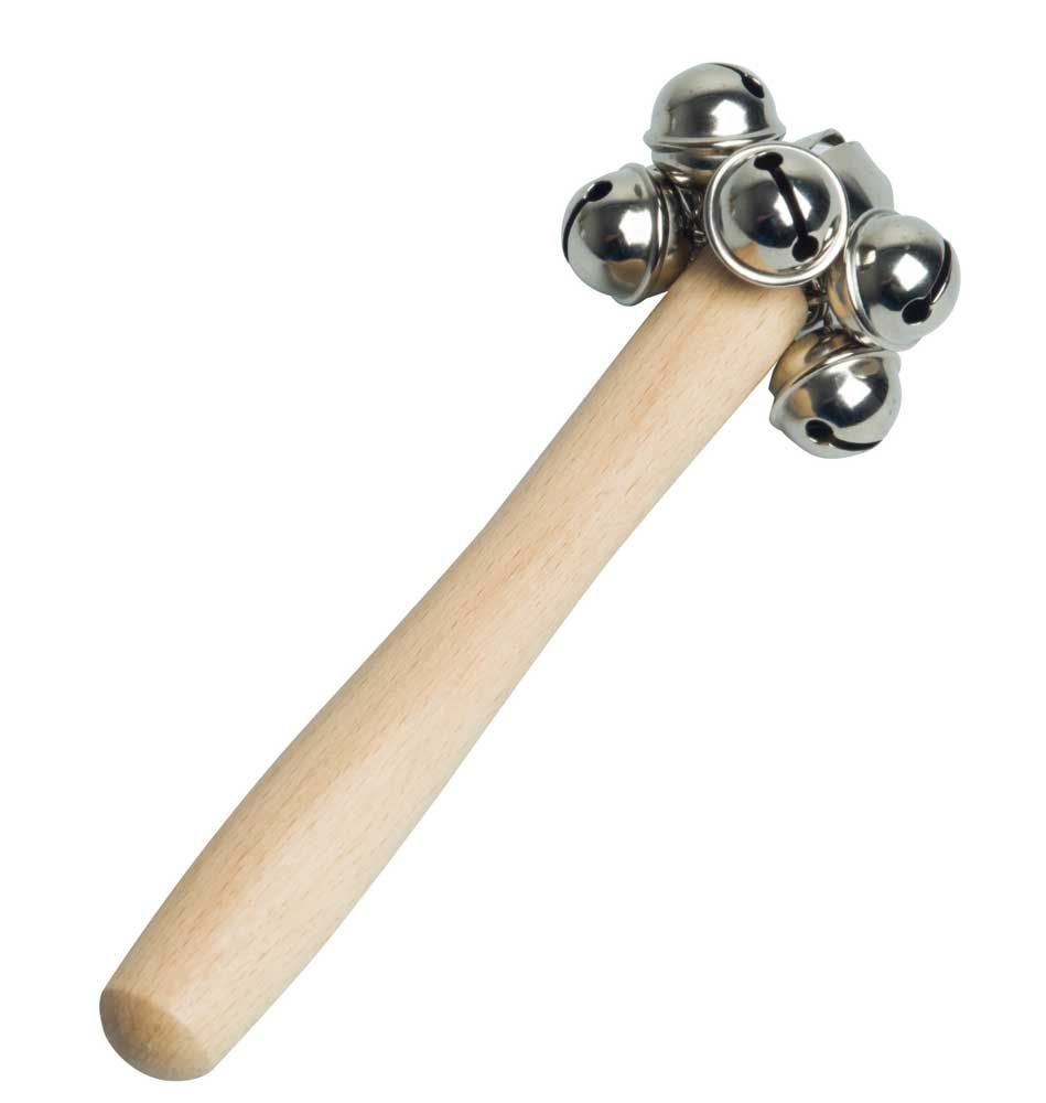 Rohema 61870 Jingle Sticks - Schellenstab + Glocke