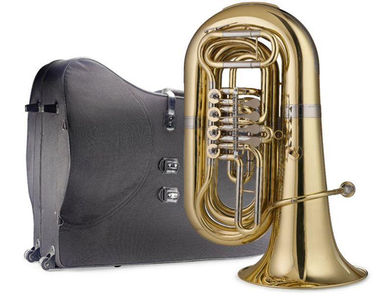 SWING Tuba TU-204, Bb-Tuba 4 Ventile, 20,00 mm Bohrung, 80 cm Länge