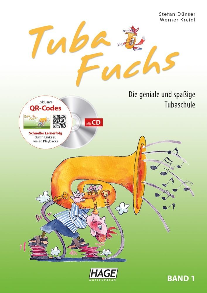 Schule Tuba Fuchs Band 1 (mit CD) Hage EH3818 Stefan Dünser & Werner Kreidl