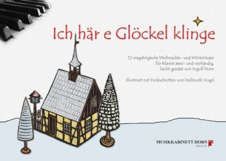 Noten Ich här e Glöckel klinge Musikkabinett Horn Notensuche Markstein
