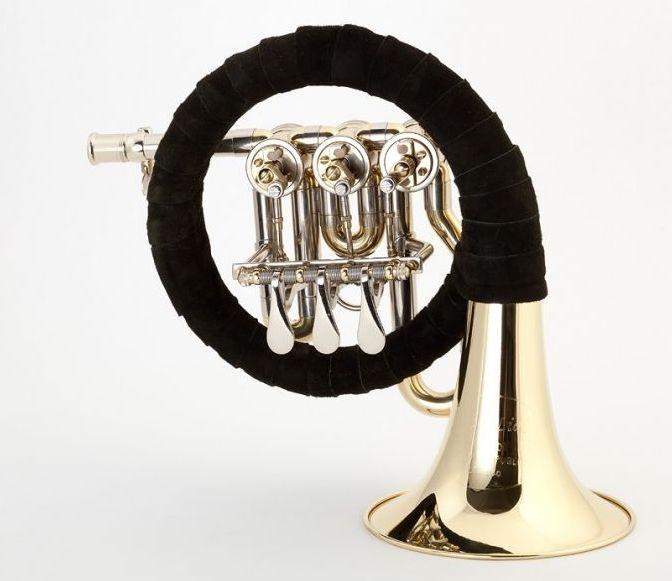 Josef Lidl LBG 280 Ventil-Jagdhorn Fürst-Pless-Horn lackiert,  Bohrung 11,70mm,
