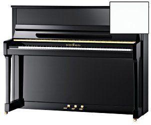 Schimmel C-116 Tradition Klavier, weiß poliert