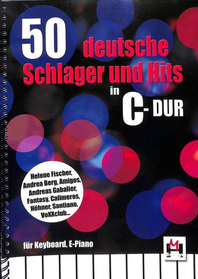 Noten 50 deutsche Schlager und Hits in C-Dur BOE 7826