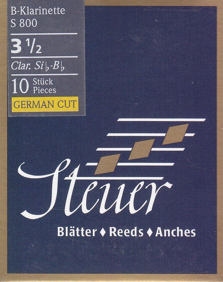 Steuer Blatt S-800 B-Klarinette deutsch 3,5 Blue Line