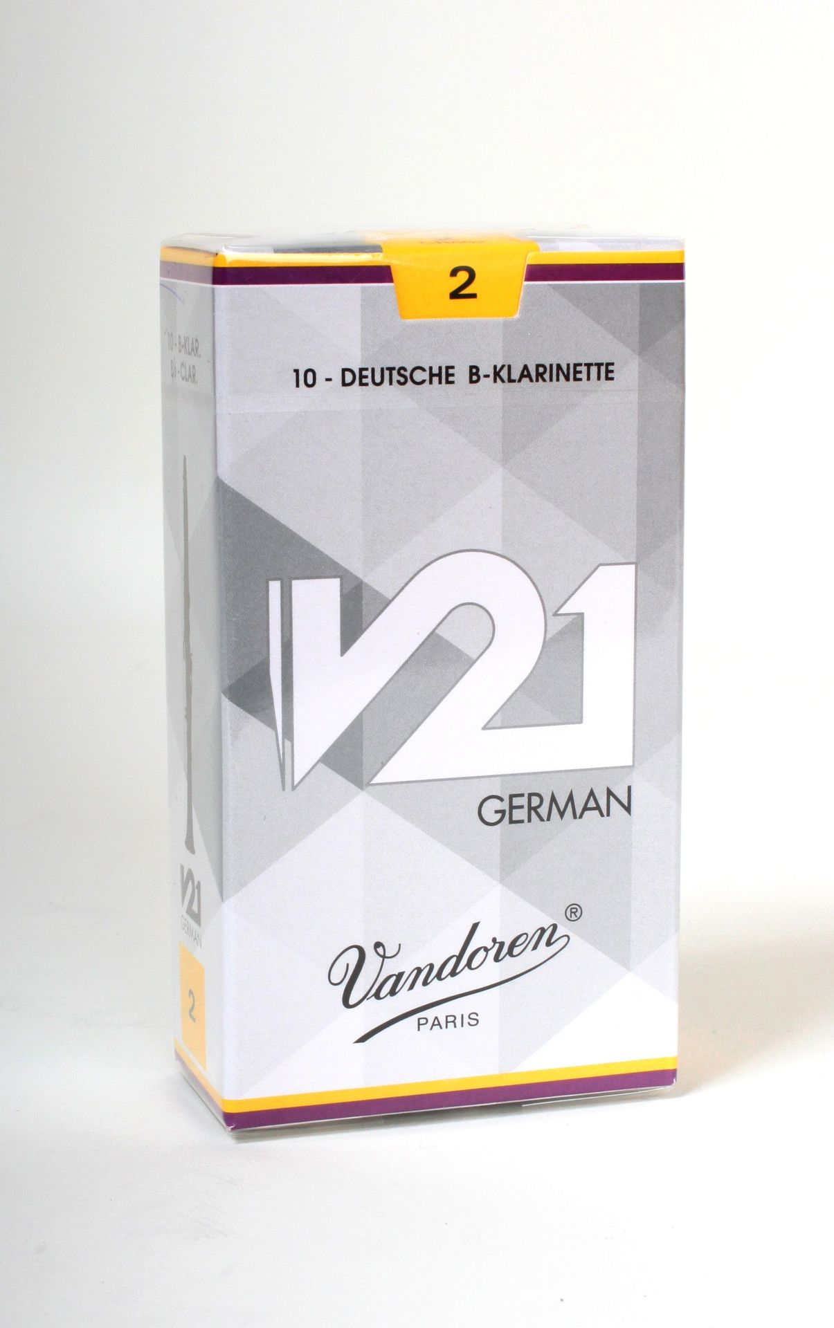 Vandoren V-21 B-Klarinette deutsch 2,0  V21 Blatt