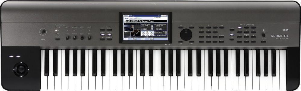 Korg KROME EX 61 Music Workstation,Touch View Farbdisplay, KRONOS-Samples u.v.m.