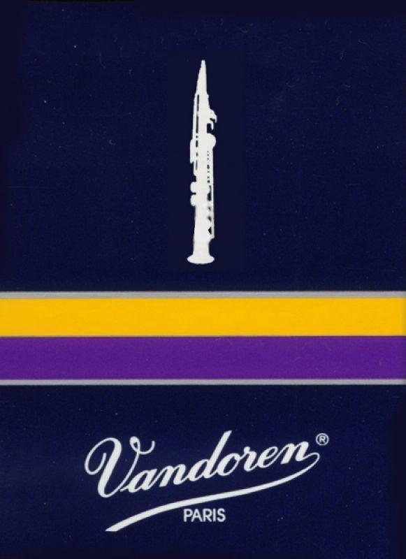 Vandoren Blatt Traditional Sopran-Saxophon 3,5 -Abvekauf, so lange Vorrat
