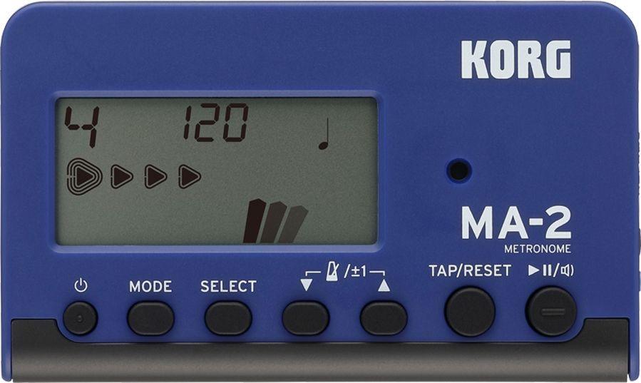 Korg MA-2 black/blue DigitalMetronoml mit Ohrhöreranschluss, Display, Speaker