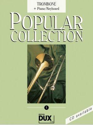 Noten Popular Collection 1 Posaune & Piano DUX 1116