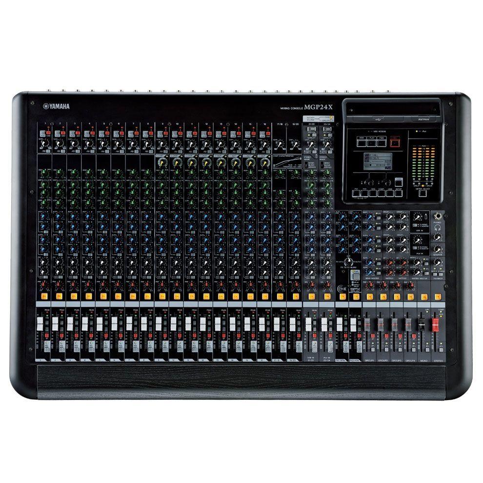 Yamaha MGP24X Mixer, Mischpult, 16 Mikrofoneingänge, 4 Stereoinputs, Effekte