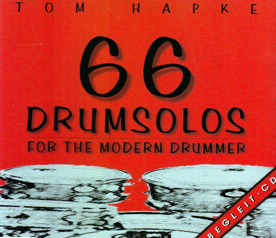 CD 66 Drumsolos for the modern Drummer Tom Hapke BOE 7019