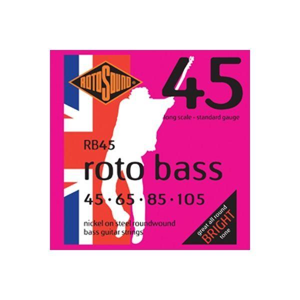 Rotosound E-Bass Saiten RB45 RotoBass 4