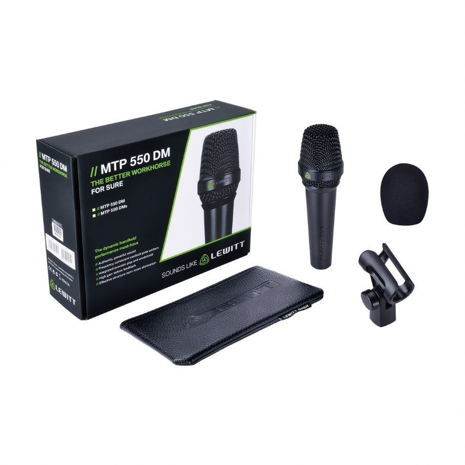 Lewitt MTP 550 DM Dynamisches Gesangsmikrofon, Niere
