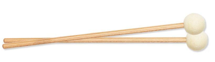 Rohema 61433 hart Filz Holzgriff Konzert-Paukenschlägel leicht