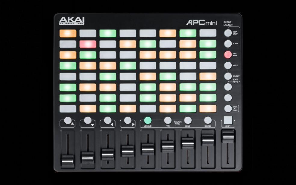 AKAI Professional APC mini Kompakter All-In-One Ableton Live Controller