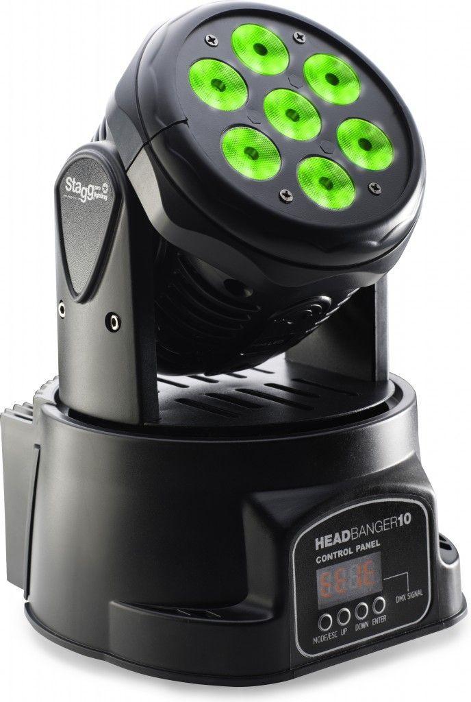Stagg Headbanger 10 LED Movinghead Wash SLI MHW HB10-0 LED Lichteffekt