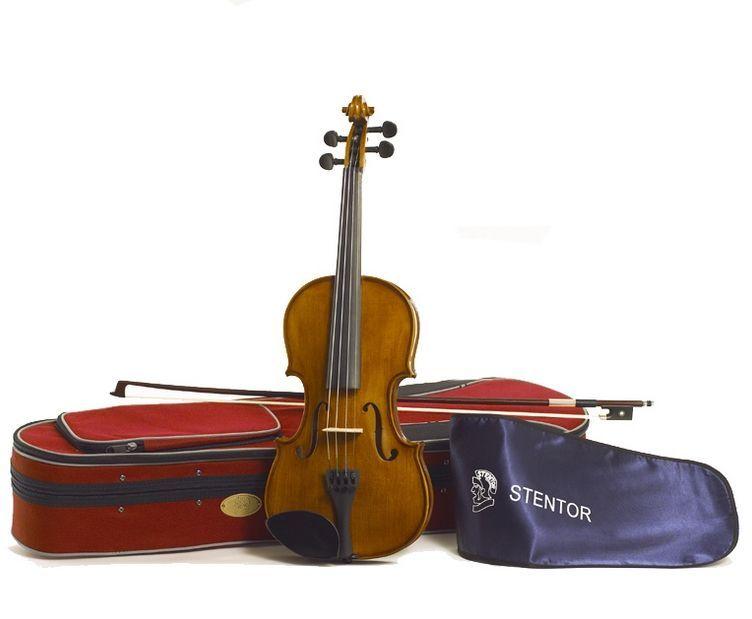 Stentor Violine Student II  1/2 SR-1500E2 1/2 Garnitur mit Koffer u. Bogen