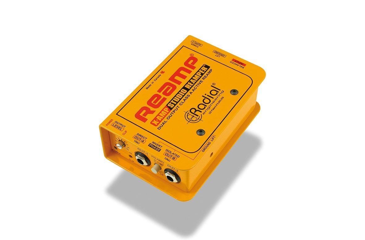 Radial Engineering X-Amp Aktiver Re-Amper, Splitter für Gitarrenamps