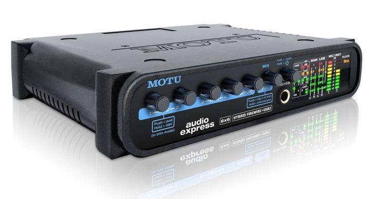 MOTU Audio Express Hybrid Firewire USB 2.0 Audiointerface