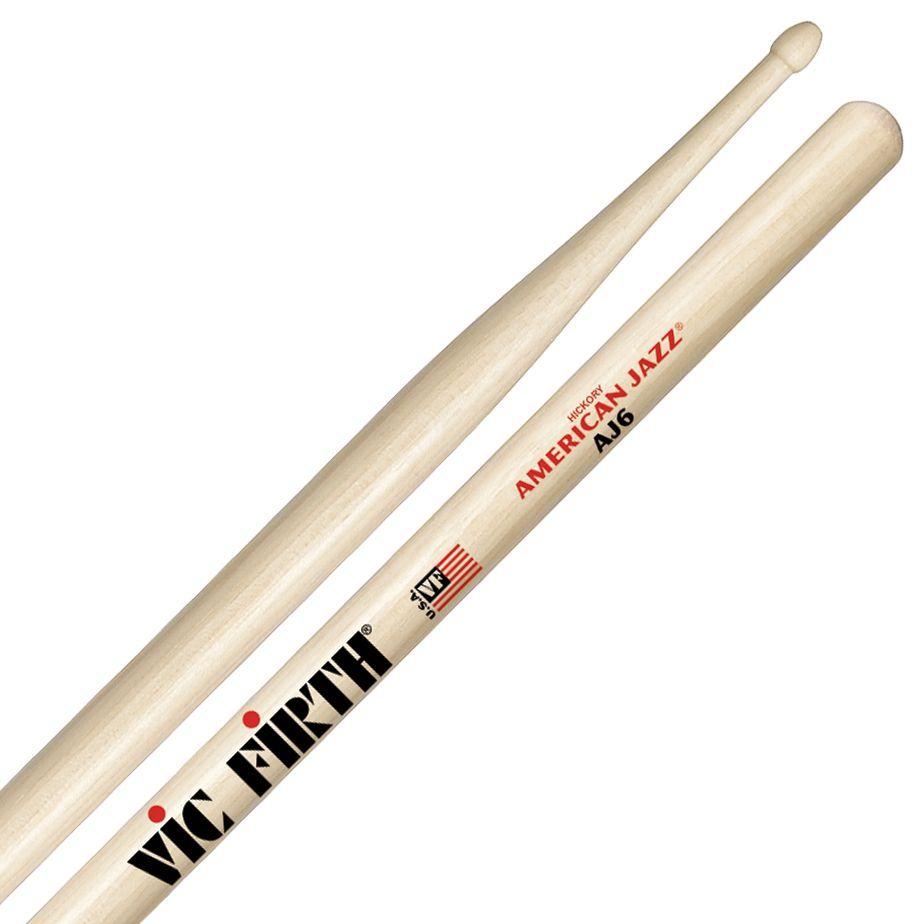 VIC FIRTH AJ6 American Jazz Serie Drumsticks