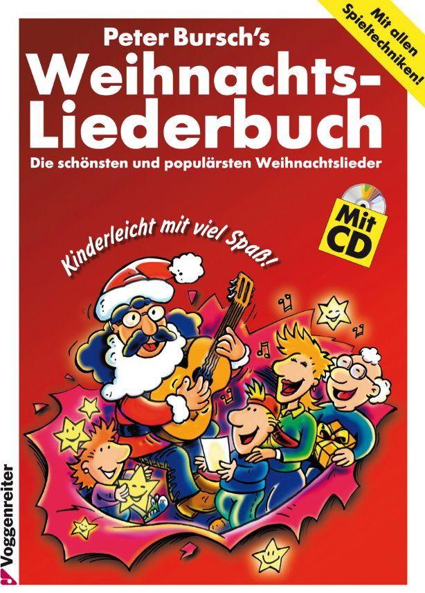 Noten Weihnachtsliederbuch Peter Bursch Voggenreiter 0303