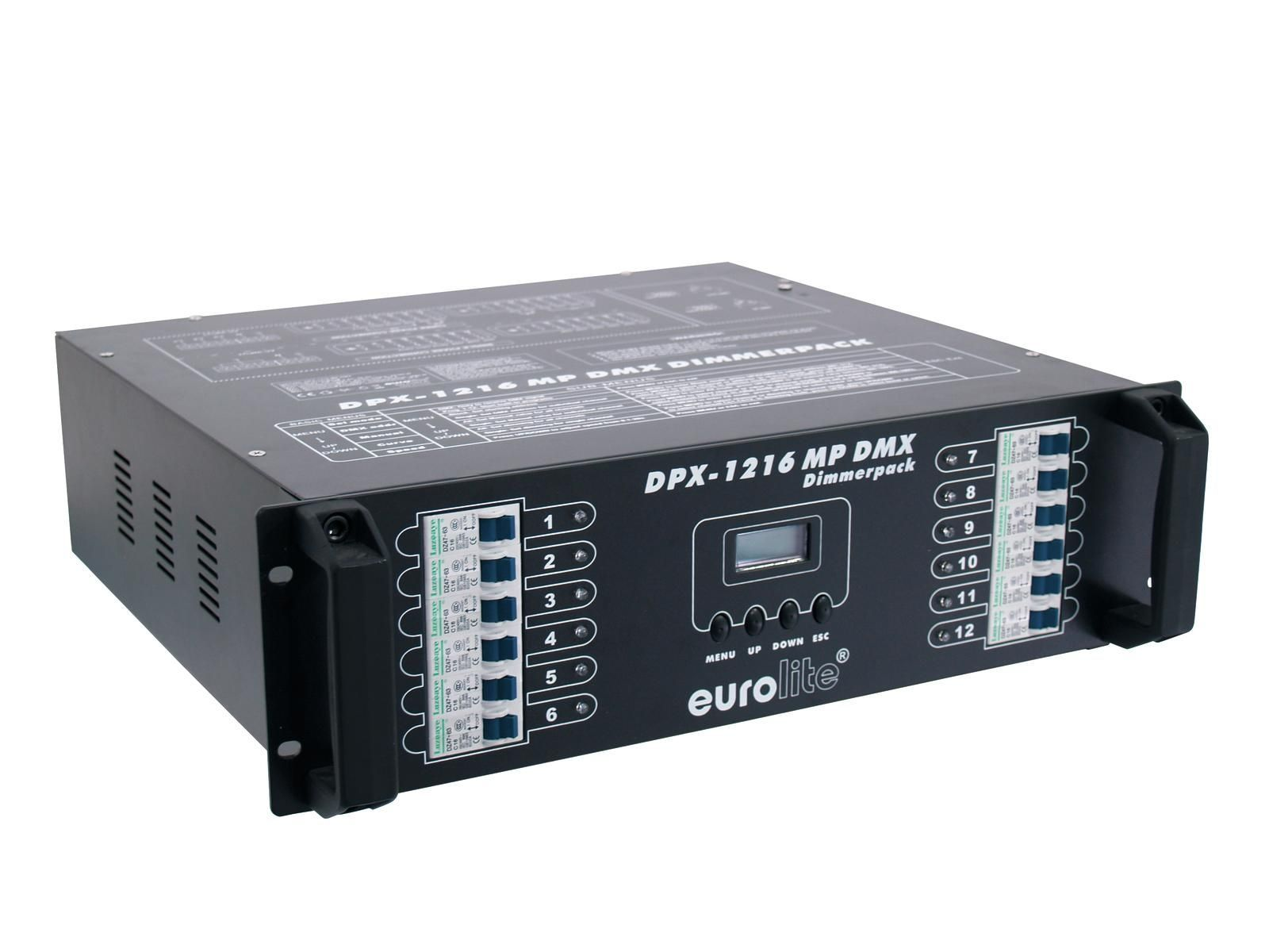 EUROLITE DPX 1216 MP DMX Dimmerpack