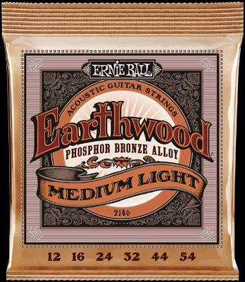 Ernie Ball EB2146 Regular Slinky Akustik Saiten, 6 Strings, .012-.054