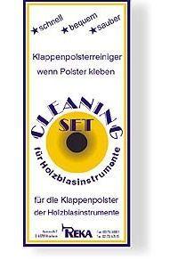 Reka Klappen-Polsterreiniger für Klarinette / Saxophon/ Flöte