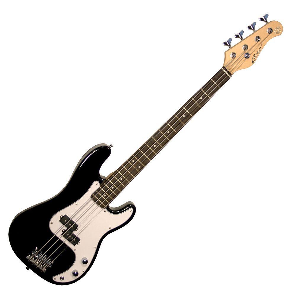 Career Stage 5 Junior E-Bass Short Scale 76cm Mensur Black