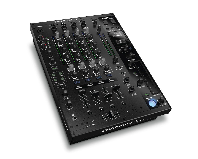 Denon DJ X1850 Prime Digitaler 4-Kanal DJ Club Mixer
