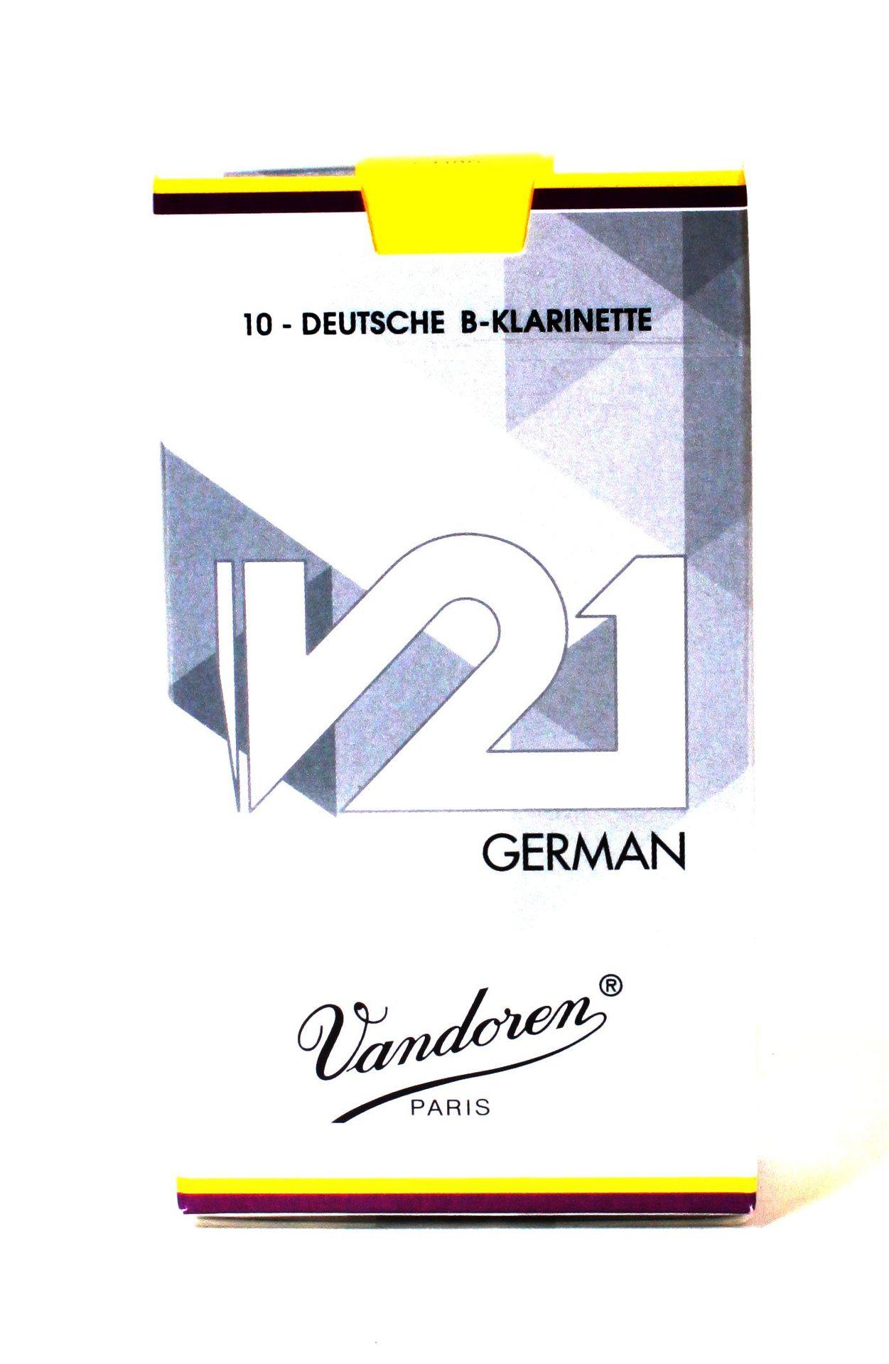 Vandoren V-21 Blatt B-Klarinette deutsch 3,0 V21