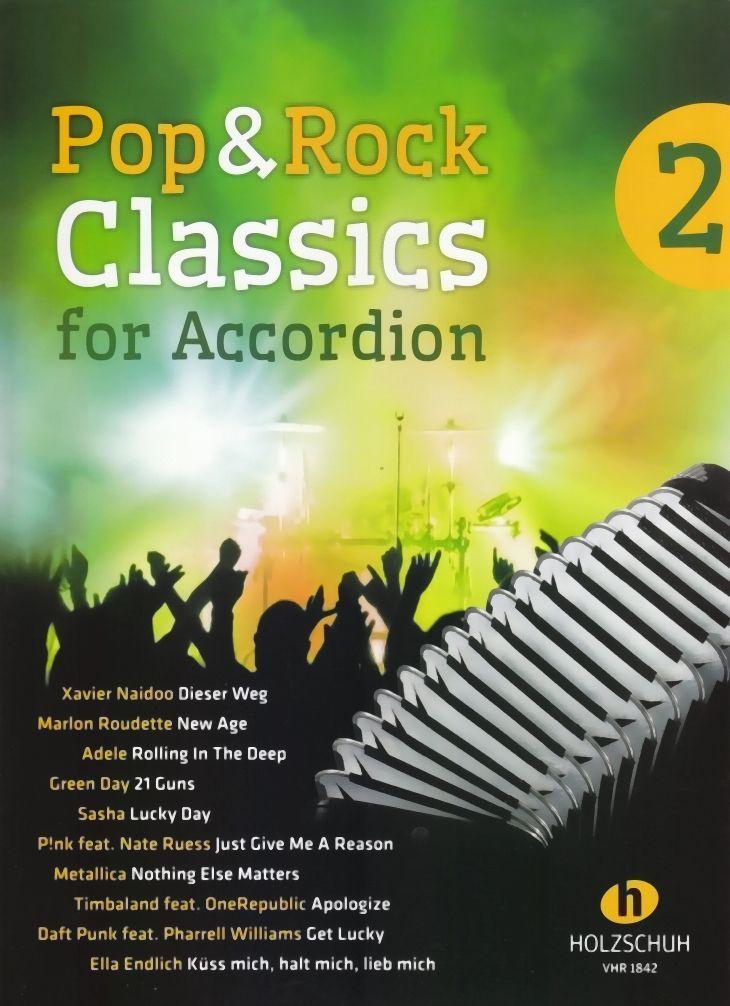 Noten Pop & Rock classics 1  Holzschuh VHR 1842  für Akkordeon Waldemar Lang