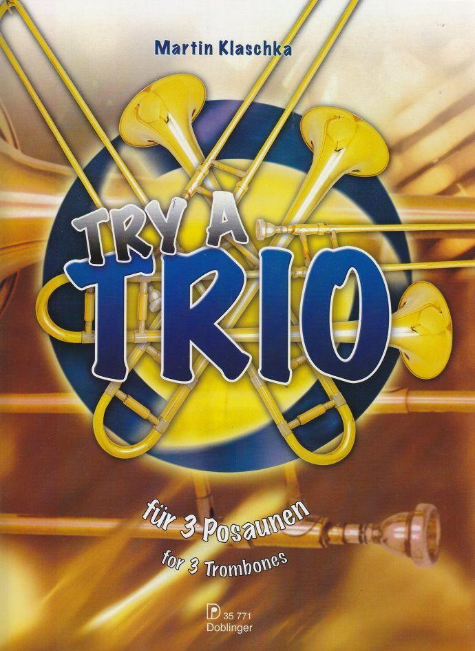 Noten Try a Trio für 3 drei Posaunen 14 ansprechende Titel Ed Doblinger 35771