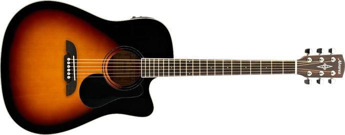 Alvarez RD26 CESB  Akustikgitarre mit Pickup, Fichte, Sunburst, incl. Gigbag