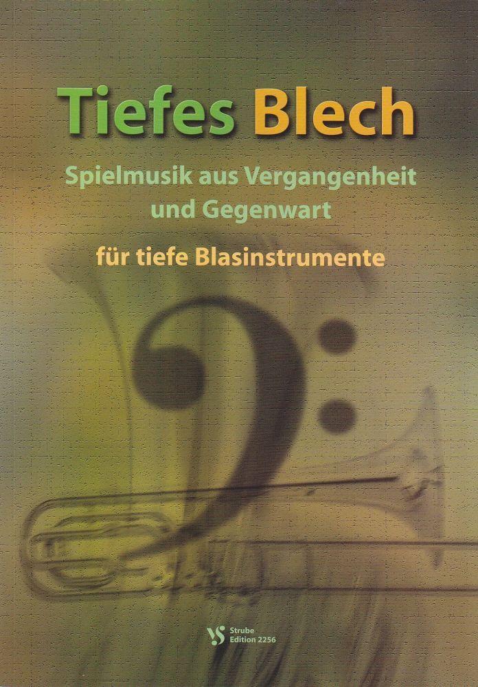 Noten Tiefes Blech Evangelischer Posaunendienst Strube VS 2256 Posaune Tuba