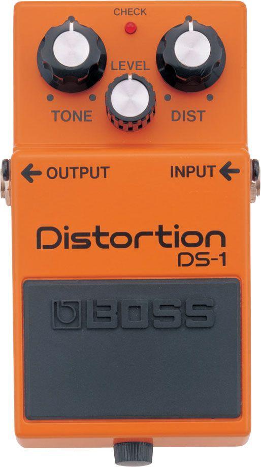 Boss DS-1 Distortion, Effektgerät für E-Gitarre