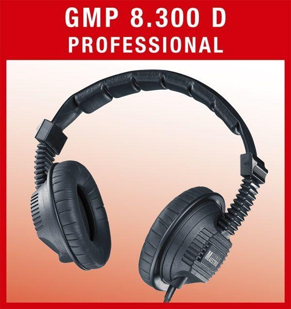 German Maestro GMP 8.300 D Professional Kopfhörer geschlossen 35 Ohm
