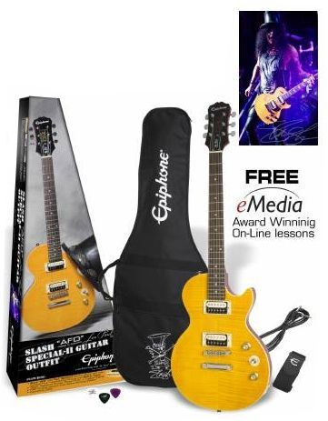 "Epiphone Epiphone Slash ""AFD"" Les Paul Special II E-Gitarre incl. Zubehörpaket"