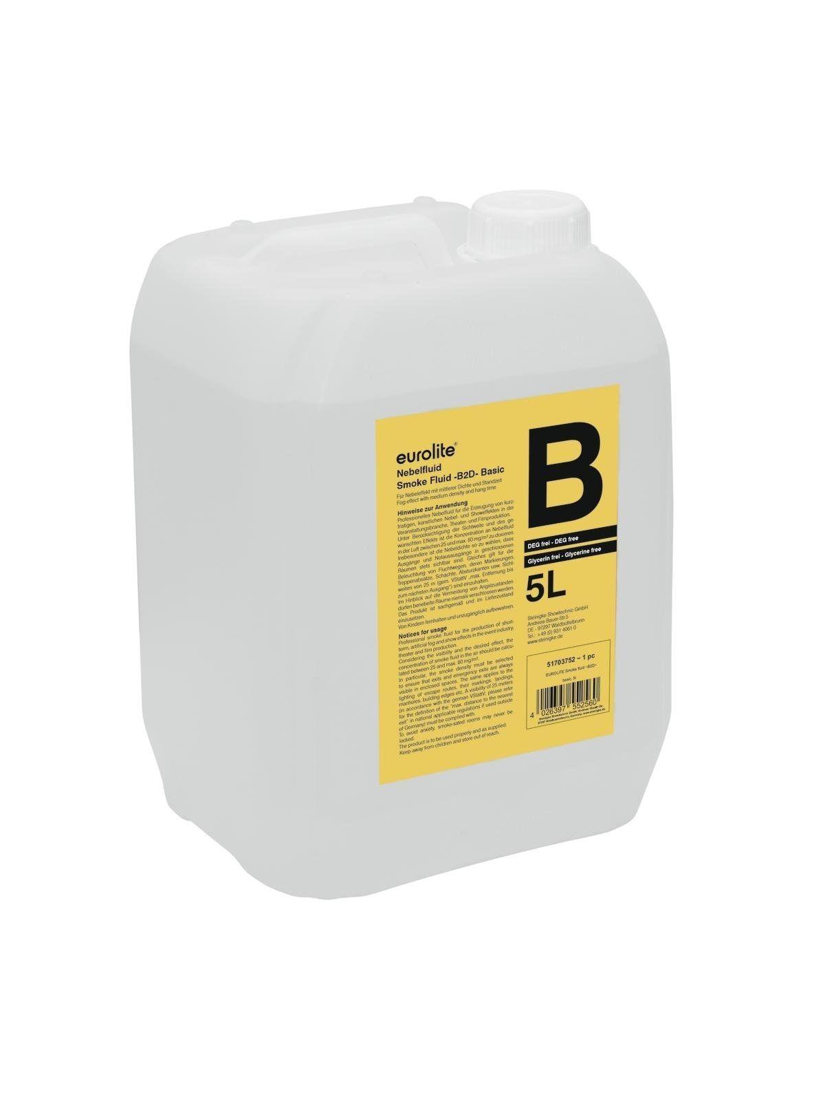 EUROLITE Smoke Fluid B2D Basic Nebelfluid 5l
