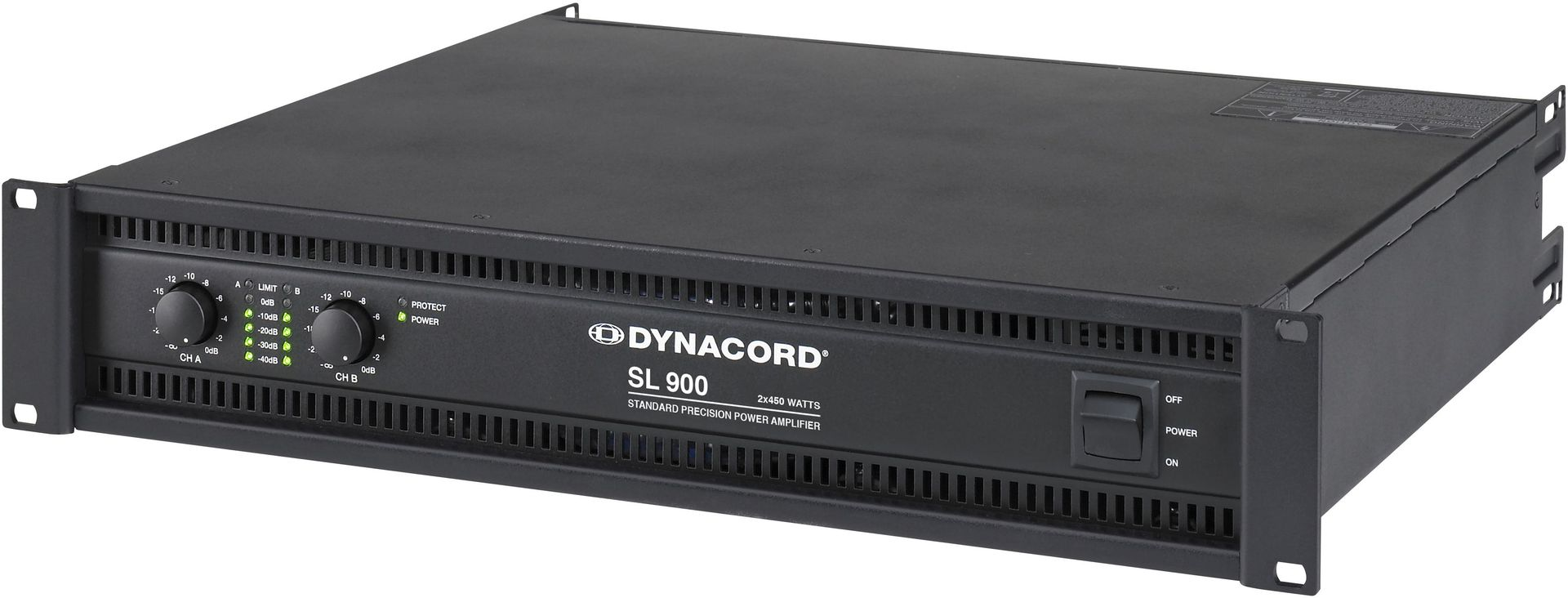 Dynacord SL 900 Endstufe  2x450 Watt 2HE Power Amp 900 W