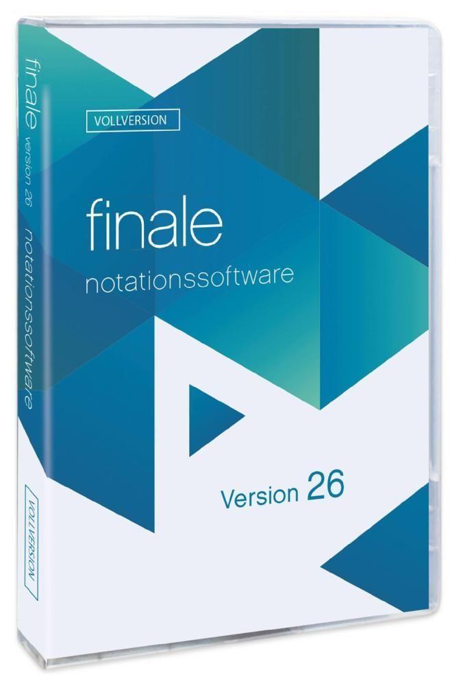 Makemusic Finale 26D Edu, deutsche Vollversion Schulausgabe, Notation + Scannen