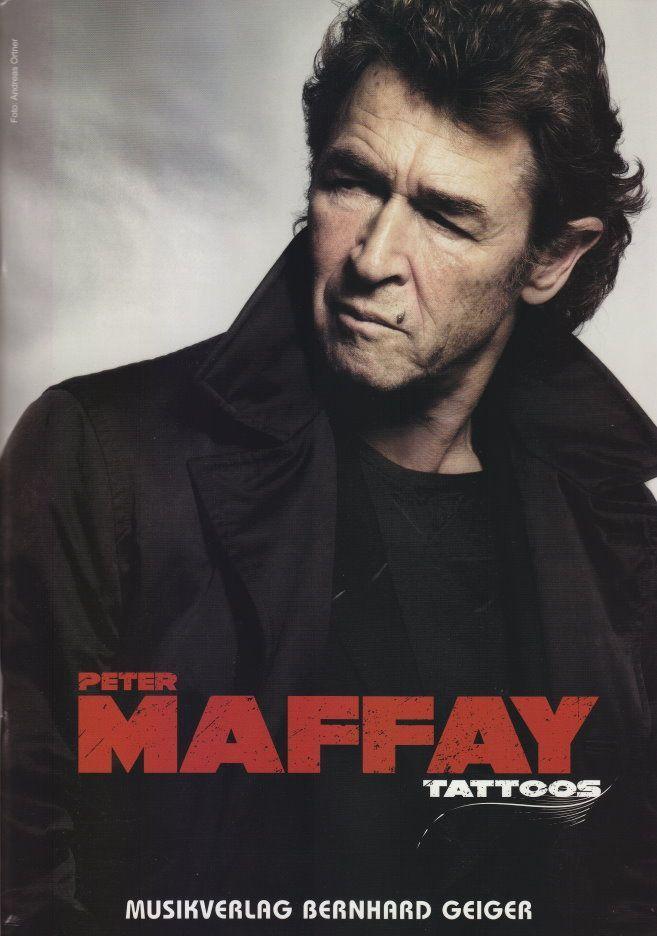 Noten Peter Maffay Tattoos Songbuch Geiger Verlag SB 64 - 18 bekannte Titel