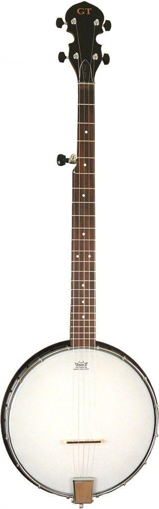 GoldTone AC-1 5-Saiter Open Back Banjo mit Tasche